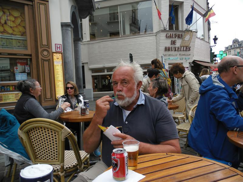 Skippers Freude – dicke Fritten und belgisches Bier