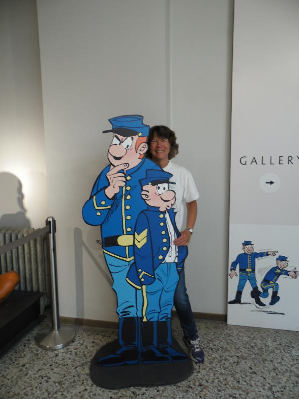Besuch im Comic Museum