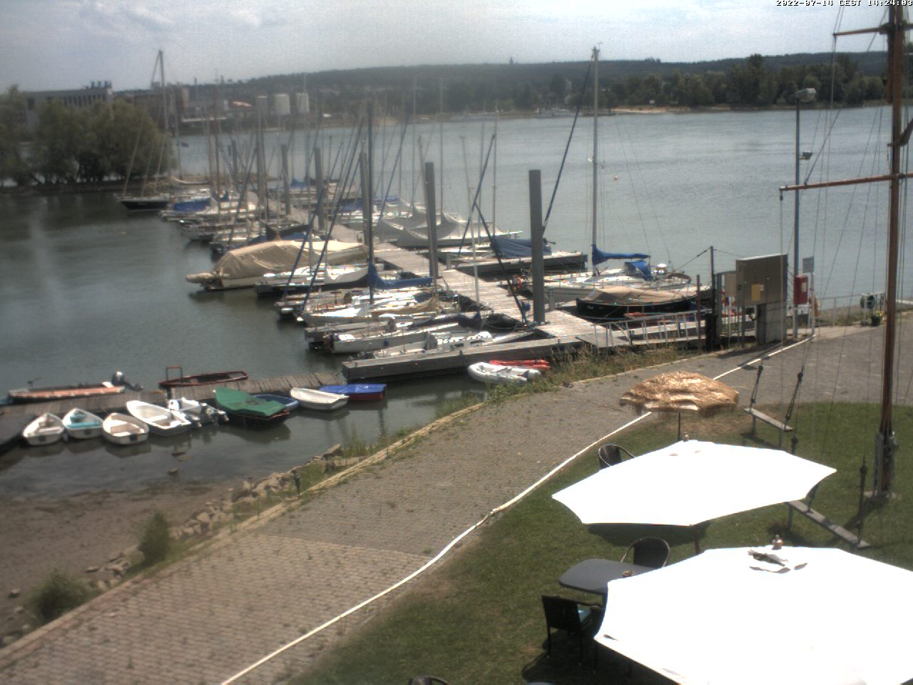 Webcam Wetter Segelclub Rheingau